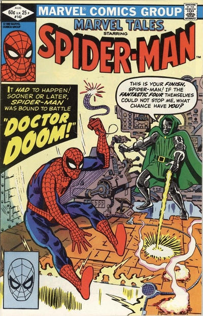 Cover for Marvel Tales (Marvel, 1966 series) #142 [Newsstand]