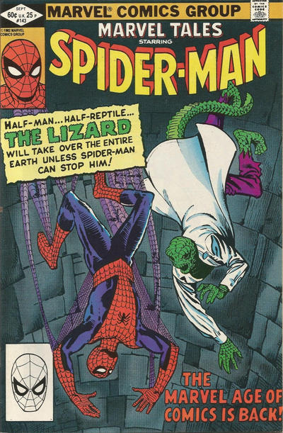 Cover for Marvel Tales (Marvel, 1966 series) #143 [Newsstand]