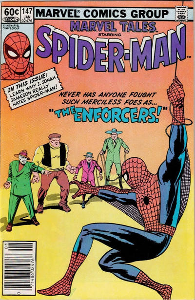 Cover for Marvel Tales (Marvel, 1966 series) #147 [Newsstand]