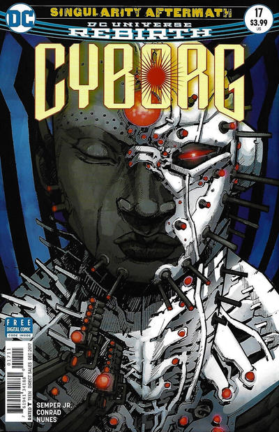 Cover for Cyborg (DC, 2016 series) #17 [Eric Canete Cover]