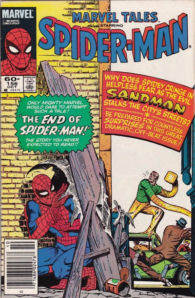 Cover for Marvel Tales (Marvel, 1966 series) #156 [Newsstand]