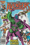 Cover Thumbnail for The Avengers (1963 series) #267 [Canadian Newsstand Edition]