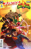 Cover Thumbnail for Justice League / Power Rangers (2017 series) #1 [Second Printing]