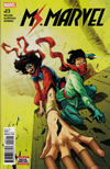 Cover for Ms. Marvel (Marvel, 2016 series) #23