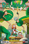 Cover for Rick and Morty (Oni Press, 2015 series) #30 [Cover A - CJ Cannon]