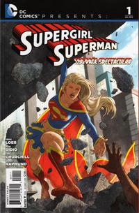 Cover Thumbnail for DC Comics Presents: Supergirl / Superman (DC, 2012 series) #1