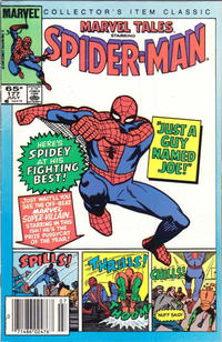 Cover Thumbnail for Marvel Tales (Marvel, 1966 series) #177 [Newsstand]