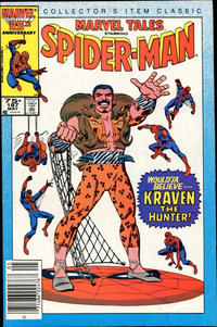 Cover Thumbnail for Marvel Tales (Marvel, 1966 series) #187 [Newsstand]