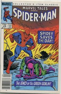 Cover Thumbnail for Marvel Tales (Marvel, 1966 series) #179 [Canadian Newsstand Edition]