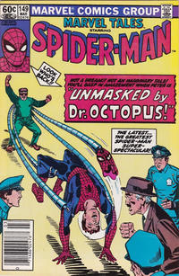 Cover Thumbnail for Marvel Tales (Marvel, 1966 series) #149 [Newsstand]