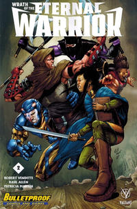 Cover Thumbnail for Wrath of the Eternal Warrior (Valiant Entertainment, 2015 series) #2 [Bulletproof Comics and Games - Robert Gill]