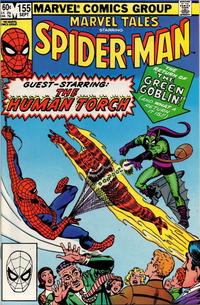 Cover Thumbnail for Marvel Tales (Marvel, 1966 series) #155 [Direct Edition]