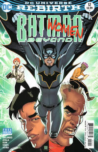Cover Thumbnail for Batman Beyond (DC, 2016 series) #12