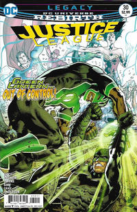 Cover Thumbnail for Justice League (DC, 2016 series) #30