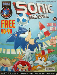 Cover Thumbnail for Sonic the Comic (Fleetway Publications, 1993 series) #133