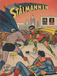 Cover Thumbnail for Stålmannen (Centerförlaget, 1949 series) #52/[1951]