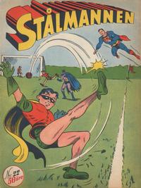Cover Thumbnail for Stålmannen (Centerförlaget, 1949 series) #22/[1950]