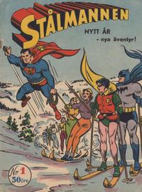 Cover Thumbnail for Stålmannen (Centerförlaget, 1949 series) #1/1953