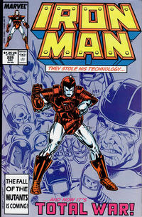 Cover Thumbnail for Iron Man (Marvel, 1968 series) #225 [Direct]