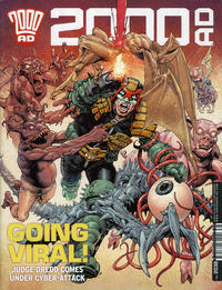 Cover Thumbnail for 2000 AD (Rebellion, 2001 series) #2038
