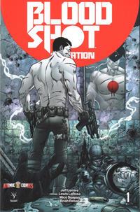 Cover Thumbnail for Bloodshot Salvation (Valiant Entertainment, 2017 series) #1 [Atomic Comics - Andres Guinaldo]