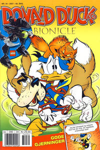 Cover Thumbnail for Donald Duck & Co (Hjemmet / Egmont, 1948 series) #34/2007