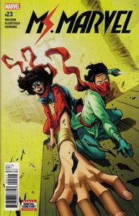 Cover Thumbnail for Ms. Marvel (Marvel, 2016 series) #23