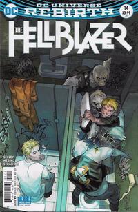Cover Thumbnail for Hellblazer (DC, 2016 series) #14 [Yasmine Putri Cover]