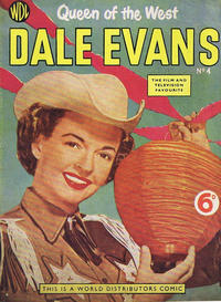 Cover Thumbnail for Dale Evans Queen of the West (World Distributors, 1955 series) #4