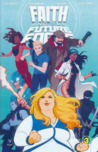 Cover Thumbnail for Faith and the Future Force (Valiant Entertainment, 2017 series) #3 [Cover A - Audrey Mok]
