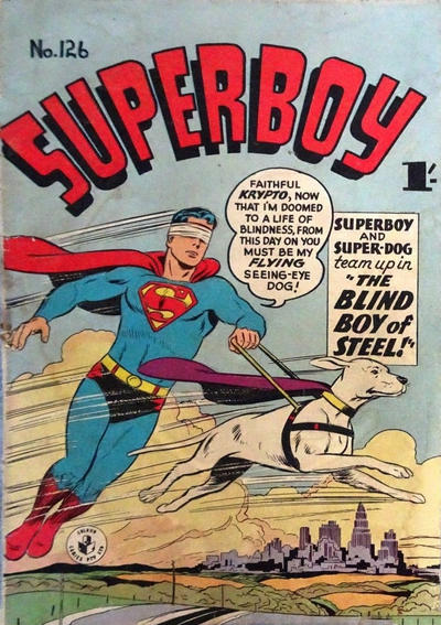 Cover for Superboy (K. G. Murray, 1949 series) #126 [1']