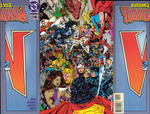Cover for Guy Gardner: Warrior (DC, 1994 series) #29 [Standard Edition - Newsstand]