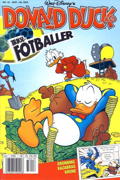 Cover for Donald Duck & Co (Hjemmet / Egmont, 1948 series) #18/2007
