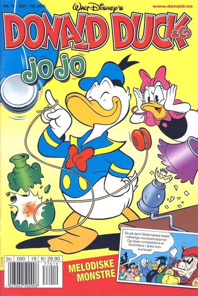 Cover for Donald Duck & Co (Hjemmet / Egmont, 1948 series) #19/2007