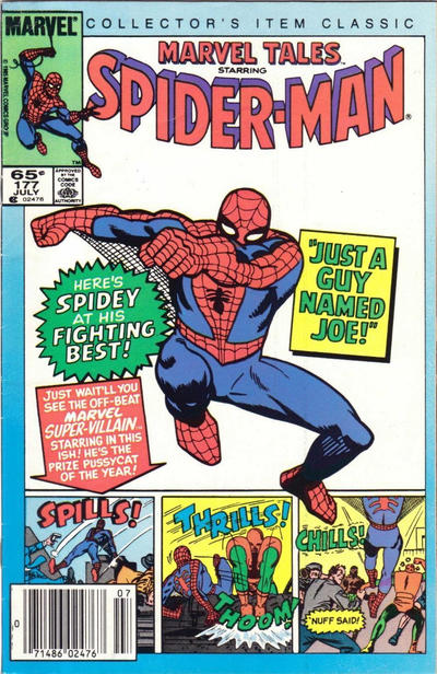 Cover for Marvel Tales (Marvel, 1966 series) #177 [Newsstand]