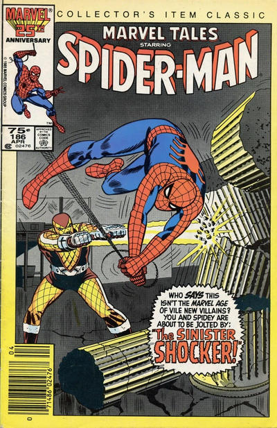 Cover for Marvel Tales (Marvel, 1966 series) #186 [Canadian]