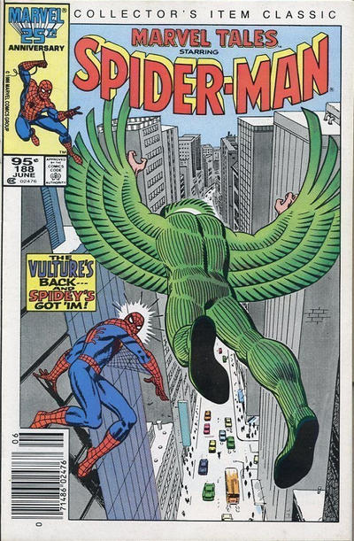 Cover for Marvel Tales (Marvel, 1966 series) #188 [Direct Edition]