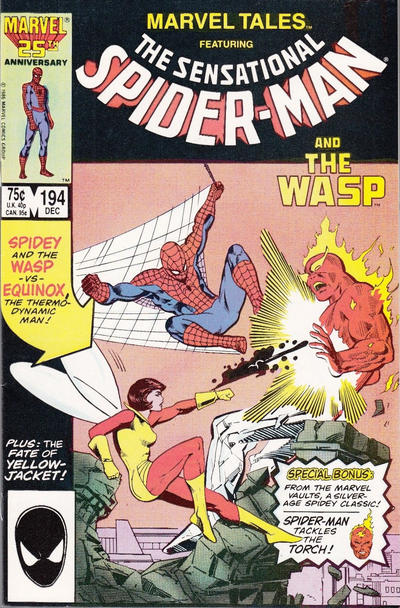 Cover for Marvel Tales (Marvel, 1966 series) #194 [Direct]