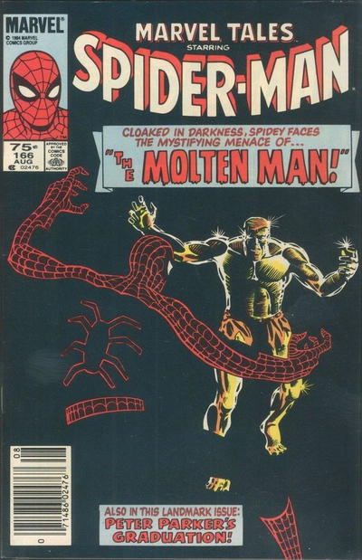 Cover for Marvel Tales (Marvel, 1966 series) #166 [Direct Edition]