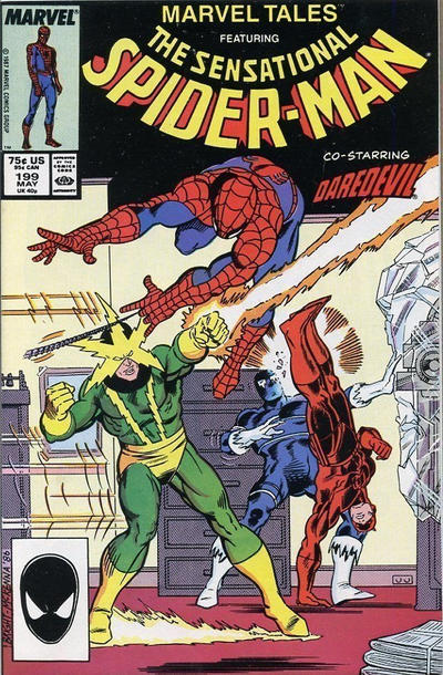 Cover for Marvel Tales (Marvel, 1966 series) #199 [Direct]