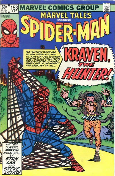 Cover for Marvel Tales (Marvel, 1966 series) #153 [Newsstand]