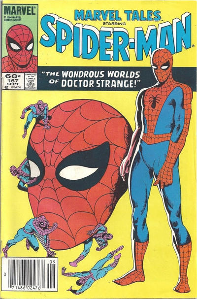 Cover for Marvel Tales (Marvel, 1966 series) #167 [Direct Edition]