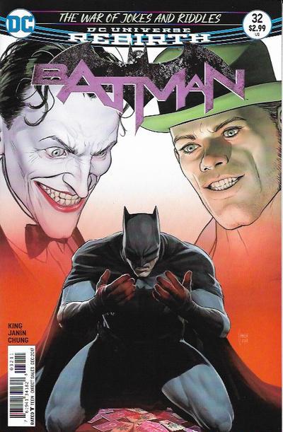 Cover for Batman (DC, 2016 series) #32 [Olivier Coipel]