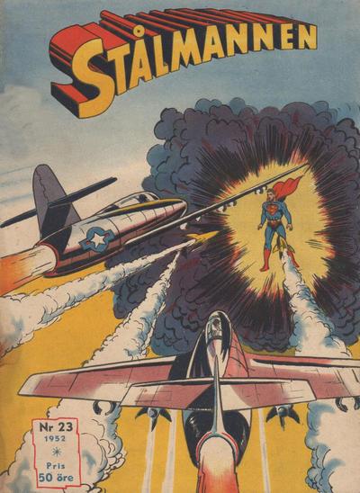 Cover for Stålmannen (Centerförlaget, 1949 series) #23/1952