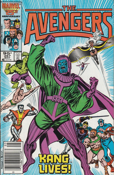 Cover for The Avengers (Marvel, 1963 series) #267 [Direct Edition]