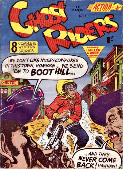 Cover for Action Series (L. Miller & Son, 1958 series) #1