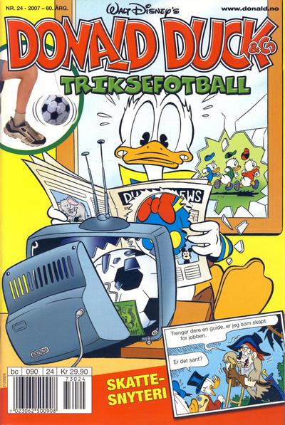 Cover for Donald Duck & Co (Hjemmet / Egmont, 1948 series) #24/2007