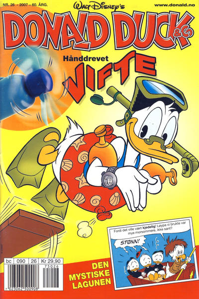 Cover for Donald Duck & Co (Hjemmet / Egmont, 1948 series) #26/2007