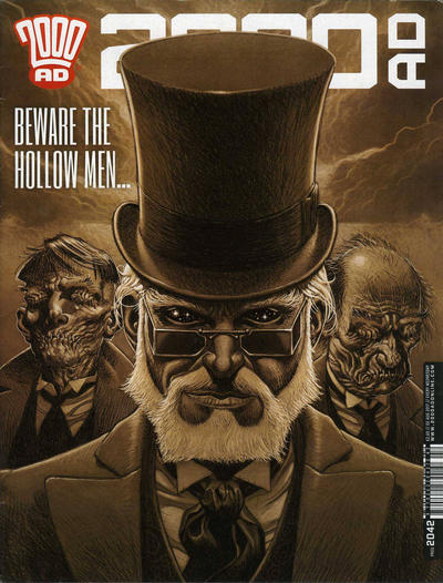 Cover for 2000 AD (Rebellion, 2001 series) #2042