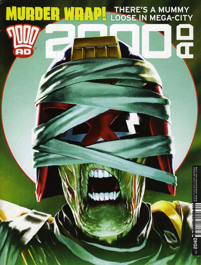 Cover for 2000 AD (Rebellion, 2001 series) #2040